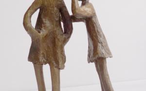 El secreto|EsculturadeAna Valenciano| Compra arte en Flecha.es