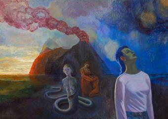 Llega la tormenta|PinturadeFernando Charro| Compra arte en Flecha.es
