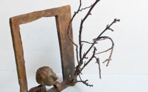 Ve que el pájaro voló|EsculturadeAna Valenciano| Compra arte en Flecha.es