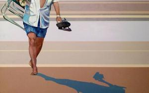 Beach Cowboy|PinturadeAurora Rumí| Compra arte en Flecha.es