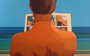 Calentito|PinturadeAurora Rumí| Compra arte en Flecha.es
