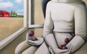 Casa roja|PinturadeMenchu Uroz| Compra arte en Flecha.es