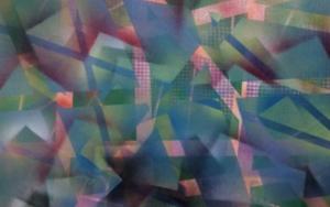 bosque azul|PinturadeJuan Caravaca Art| Compra arte en Flecha.es