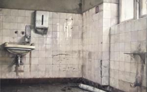 Baño Abandonado|PinturadeRodríguez Lobo| Compra arte en Flecha.es