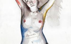 You snatched my entrails|DibujodeMentiradeloro| Compra arte en Flecha.es