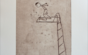 Vamos, salta!|Obra gráficadeAna Valenciano| Compra arte en Flecha.es