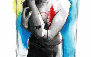 Tell me a fucking happy ending story|DibujodeMentiradeloro| Compra arte en Flecha.es