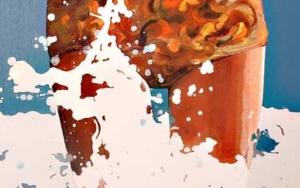 Splash|PinturadeAurora Rumí| Compra arte en Flecha.es
