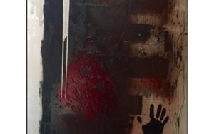 Huella de sangre|PinturadeAlejandro Lopez| Compra arte en Flecha.es