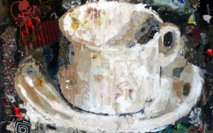 TAZA DE CAFÉ|PinturadeBarbeito| Compra arte en Flecha.es