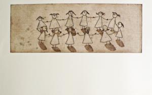 El corro|Obra gráficadeAna Valenciano| Compra arte en Flecha.es