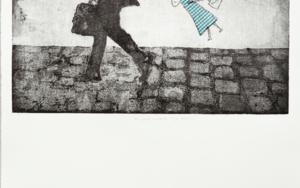 Mi  papá andaba muy deprisa|Obra gráficadeAna Valenciano| Compra arte en Flecha.es