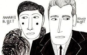 Annabel & Bernard Buffet DibujodeInma Lorente  Compra arte en Flecha.es