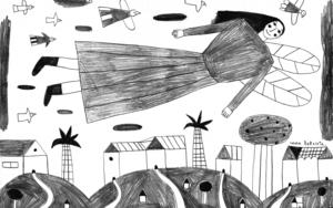 Angel|DibujodeInma Lorente| Compra arte en Flecha.es