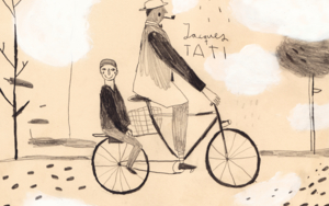 Jacques Tati|DibujodeInma Lorente| Compra arte en Flecha.es