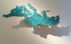 MARE NOSTRUM XXII|Escultura de pareddeJaelius Aguirre| Compra arte en Flecha.es
