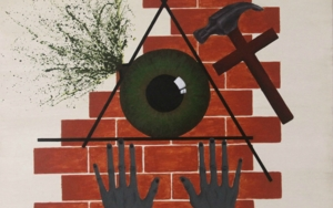 Eye of Oppression|PinturadeAlina Mar| Compra arte en Flecha.es