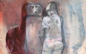 Hannah y el hombre mono|DibujodeÁlvaro Marzán| Compra arte en Flecha.es