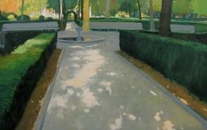 Jardines de Aranjuez|PinturadeJuan Manuel Campos Guisado| Compra arte en Flecha.es