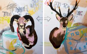La ambigüedad de las cosas|DibujodeAlejandra de la Torre| Compra arte en Flecha.es