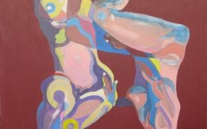 Rubia y Morena|PinturadeNader| Compra arte en Flecha.es
