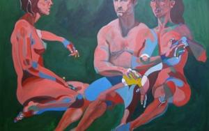 En  jardin|PinturadeNader| Compra arte en Flecha.es