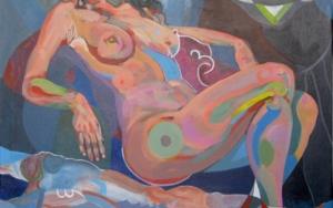 El reposo|PinturadeNader| Compra arte en Flecha.es