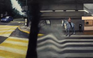 Ficción Urbana III|PinturadeErick Miraval| Compra arte en Flecha.es