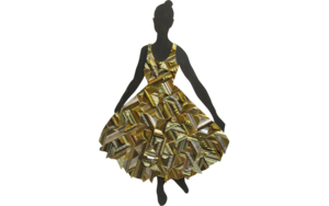Vestido para bailar|EsculturadeJuan Diego Miguel| Compra arte en Flecha.es