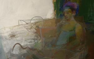 La espera II PinturadeMaría Argüelles  Compra arte en Flecha.es