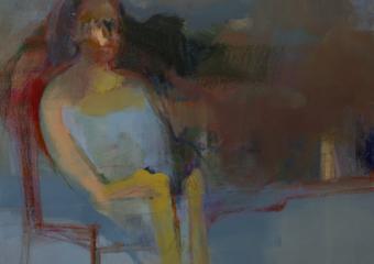 La espera I|PinturadeMaría Argüelles| Compra arte en Flecha.es