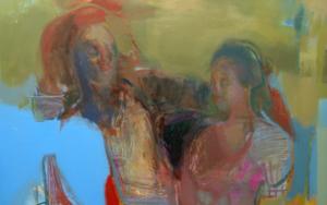 La no espera|PinturadeMaría Argüelles| Compra arte en Flecha.es