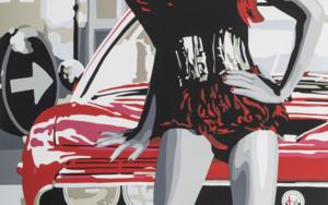 Mont-real Woman I|Obra gráficadeSilvia Papas| Compra arte en Flecha.es