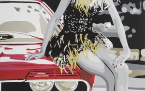 Mont-real Woman II|Obra gráficadeSilvia Papas| Compra arte en Flecha.es