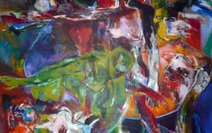 El Reconocimiento PinturadeJavier Paniagua  Compra arte en Flecha.es