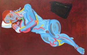 El reposo II|PinturadeNader| Compra arte en Flecha.es