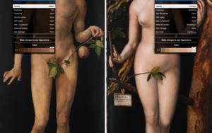 #Smartpaint, Adán & Eva, Durero|CollagedeJuan Carlos Rosa Casasola| Compra arte en Flecha.es