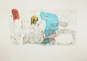 El Jardinero|Obra gráficadeJorge Castillo| Compra arte en Flecha.es