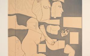 Marienza Recortada Obra gráficadeJorge Castillo  Compra arte en Flecha.es