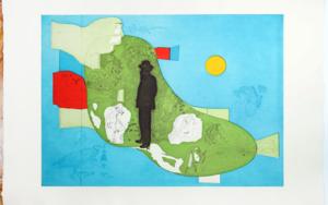 Don Ramón|Obra gráficadeJorge Castillo| Compra arte en Flecha.es