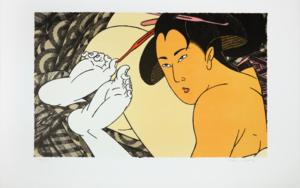 Geishas|Obra gráficadeFernando Bellver| Compra arte en Flecha.es