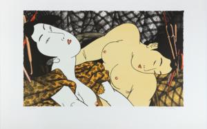 Duo|Obra gráficadeFernando Bellver| Compra arte en Flecha.es