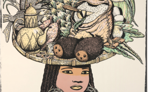 Serie Cinco Continentes: África|Obra gráficadeFernando Bellver| Compra arte en Flecha.es