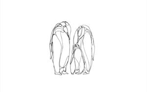 Pingüinos|IlustracióndeTaquen| Compra arte en Flecha.es