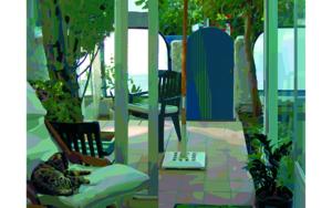Por la tarde|DigitaldeBeatriz Ujados| Compra arte en Flecha.es