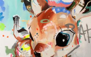 Figurilla #1 DibujodeAlejandra de la Torre  Compra arte en Flecha.es