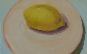 limón|PinturadeJuan Moreno Moya| Compra arte en Flecha.es