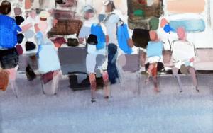 Attesa sul mercato|PinturadeSaracho| Compra arte en Flecha.es