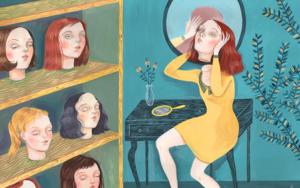 El Tocador|DibujodeHelena Perez Garcia| Compra arte en Flecha.es
