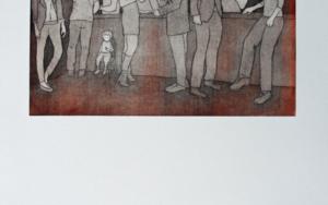 En la fiesta de mayores|Obra gráficadeAna Valenciano| Compra arte en Flecha.es